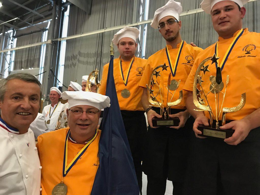 Ekip equipe de france championne d europe de boulangerie - Dotation coupe de france ...
